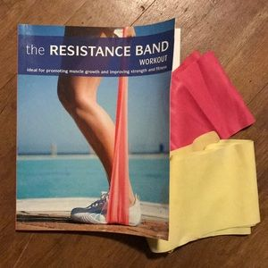 The Resistance Band Workout book and bands NEW